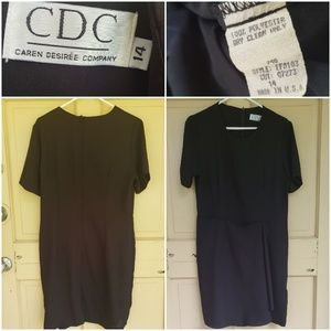 Caren Desirèe Company Front flap dress